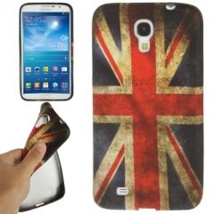Чехол силиконовый для Samsung Galaxy Mega 6.3 Британский флаг