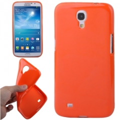 Чехол силиконовый для Samsung Galaxy Mega 6.3 оранжевый