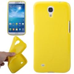 Чехол силиконовый для Samsung Galaxy Mega 6.3 желтый