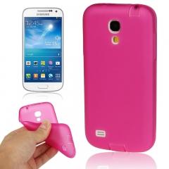 Чехол силиконовый для Samsung Galaxy S4 mini розовый