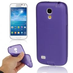 Чехол силиконовый для Samsung Galaxy S4 mini фиолетовый