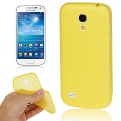 Чехол силиконовый для Samsung Galaxy S4 mini желтый