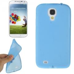 Чехол силиконовый для Samsung Galaxy S4 голубой
