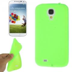 Чехол силиконовый для Samsung Galaxy S4 салатовый