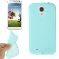 Чехол силиконовый для Samsung Galaxy S4 синий