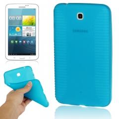 Чехол силиконовый для Samsung Galaxy Tab 3 7.0 голубой