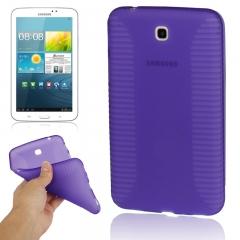 Чехол силиконовый для Samsung Galaxy Tab 3 7.0 фиолетовый