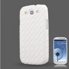 Чехол плетеный для Samsung Galaxy S3, белый