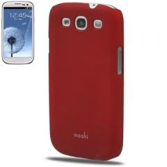 Чехол накладка Moshi iGlaze для Samsung Galaxy S3 красный