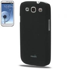 Чехол накладка Moshi iGlaze для Samsung Galaxy S3 черный