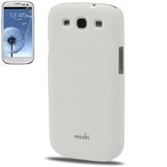 Чехол накладка Moshi iGlaze для Samsung Galaxy S3 белый