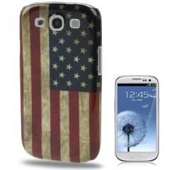 Чехол для Samsung Galaxy S3 Американский Флаг