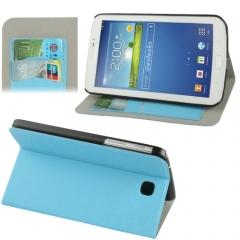 Чехол книжка для Samsung Galaxy Tab 3 7.0 голубой