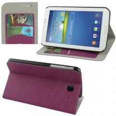 Чехол книжка для Samsung Galaxy Tab 3 7.0 фиолетовый