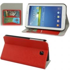 Чехол книжка для Samsung Galaxy Tab 3 7.0 красный