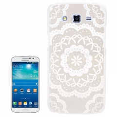 Чехол для Samsung Galaxy Grand 2 белый узор