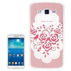 Чехол для Samsung Galaxy Grand 2 цветочки розовый