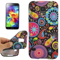 Чехол силиконовый для Samsung Galaxy S5 Узор
