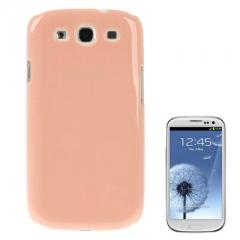 Пластиковая панелька для Samsung Galaxy S3 персиковая