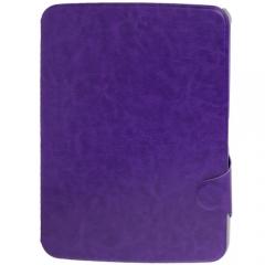 Чехол книжка для Samsung Galaxy Tab 3 10.1 фиолетовый