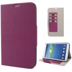 Чехол книжка для Samsung Galaxy Tab 3 8.0 фиолетовый