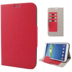 Чехол книжка для Samsung Galaxy Tab 3 8.0 красный