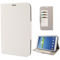 Чехол книжка для Samsung Galaxy Tab 3 8.0 белый