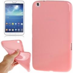 Чехол силиконовый для Samsung Galaxy Tab 3 8.0 розовый