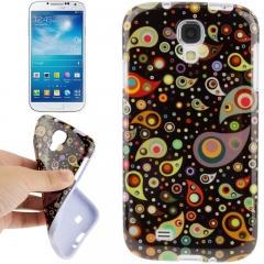 Чехол силиконовый Узор для Samsung Galaxy S4