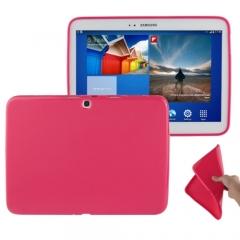 Чехол силиконовый для Samsung Galaxy Tab 3 10.1 малиновый