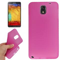 Силиконовый чехол для Samsung Galaxy Note 3 розовый