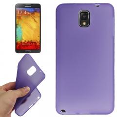 Силиконовый чехол для Samsung Galaxy Note 3 фиолетовый