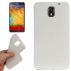 Силиконовый чехол для Samsung Galaxy Note 3 белый