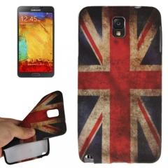 Силиконовый чехол для Samsung Galaxy Note 3 Британский флаг