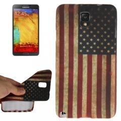 Силиконовый чехол для Samsung Galaxy Note 3 Американский флаг