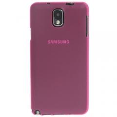 Ультратонкий чехол для Samsung Galaxy Note 3 малиновый