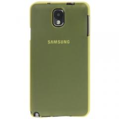 Ультратонкий чехол для Samsung Galaxy Note 3 желтый