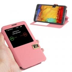 Чехол книжка для Samsung Galaxy Note 3 розовый