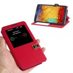 Чехол книжка для Samsung Galaxy Note 3 красный