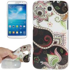 Чехол для Samsung Galaxy Mega 6.3 Узор черный