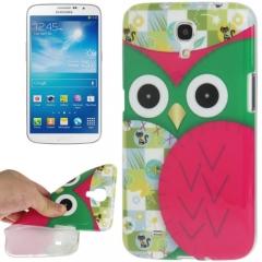 Чехол силиконовый для Samsung Galaxy Mega 6.3 Сова