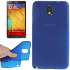 Силиконовый чехол для Samsung Galaxy Note 3 синий