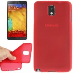 Силиконовый чехол для Samsung Galaxy Note 3 красный