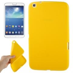 Чехол силиконовый для Samsung Galaxy Tab 3 8.0 желтый