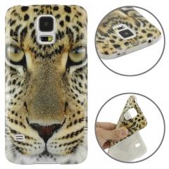 Чехол для Samsung Galaxy S5 Леопард