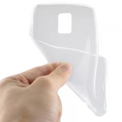 Чехол ультратонкий для Samsung Galaxy S5 прозрачный