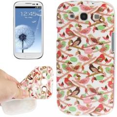 Чехол Птички для Samsung Galaxy S3