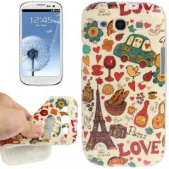 Чехол Париж для Samsung Galaxy S3