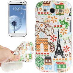 Чехол для Samsung Galaxy S3 Париж