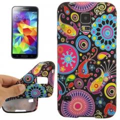Чехол силиконовый для Samsung Galaxy S5 Mini Узор
